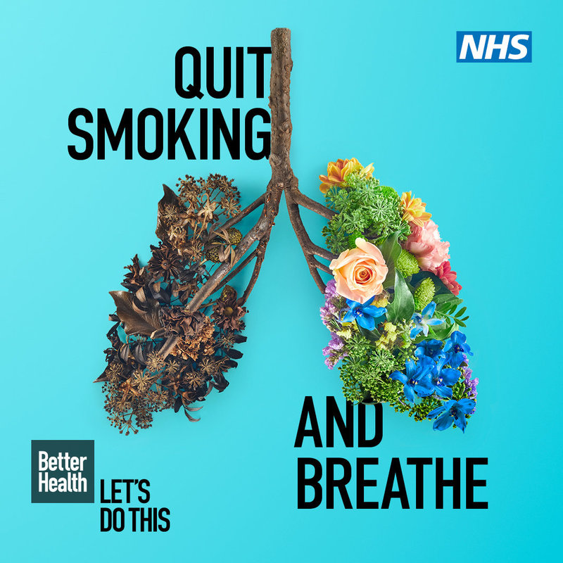 Quit smoking and breathe Stoptober 2020